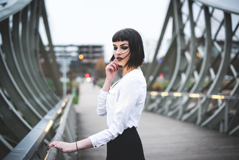 Photographe Portrait - Valentine - Metz - Parc de la Seille