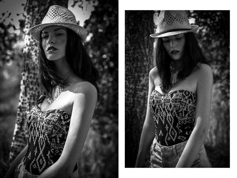 Margaux Gatti - Photographie de Portrait en Noir et Blanc