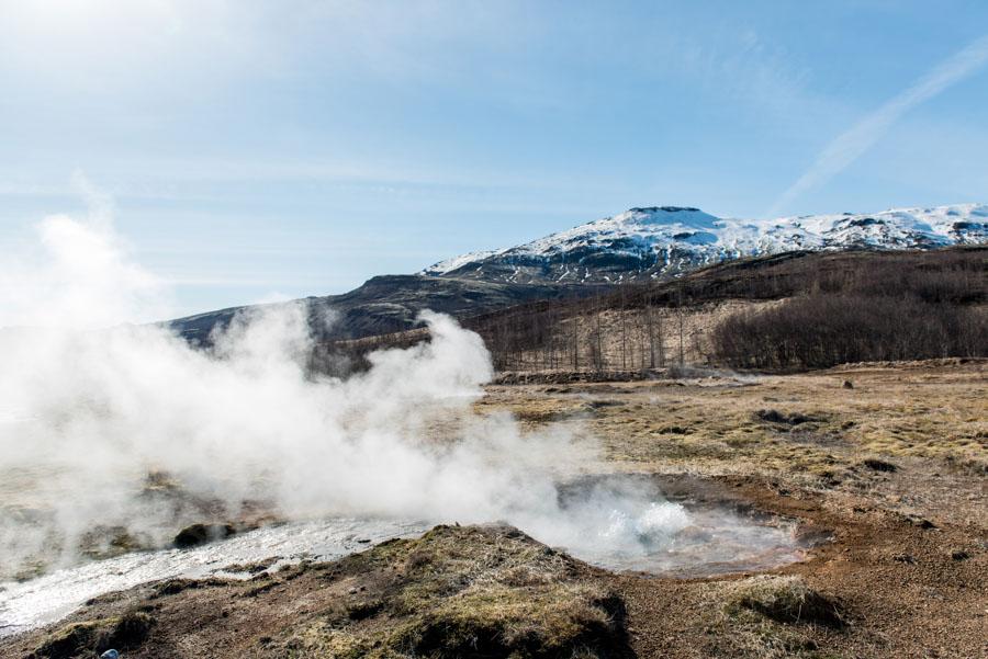 geysir geysers islande