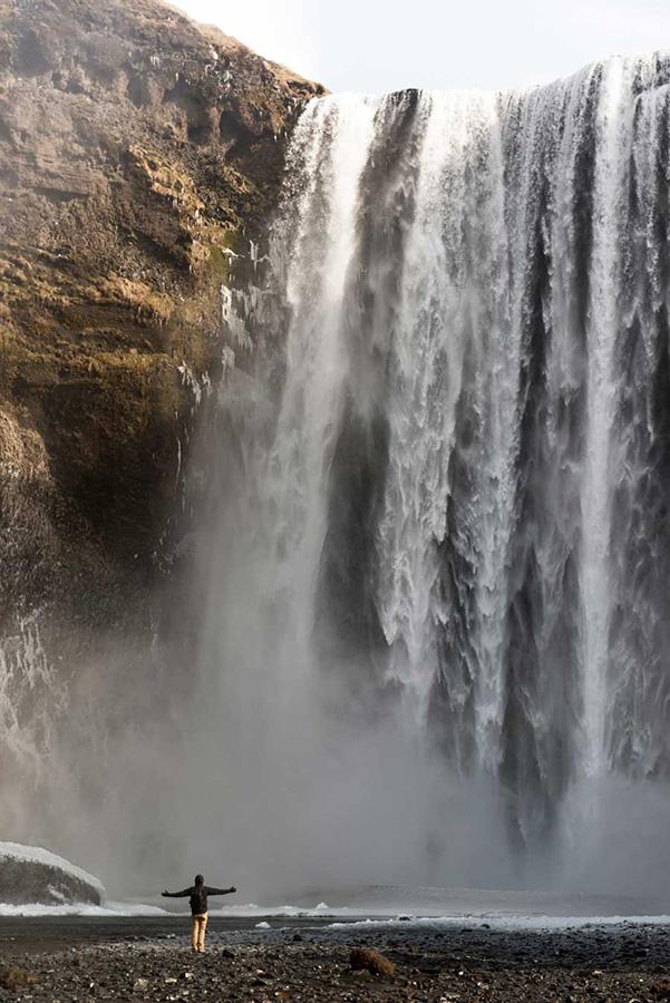 skogafoss-cascade