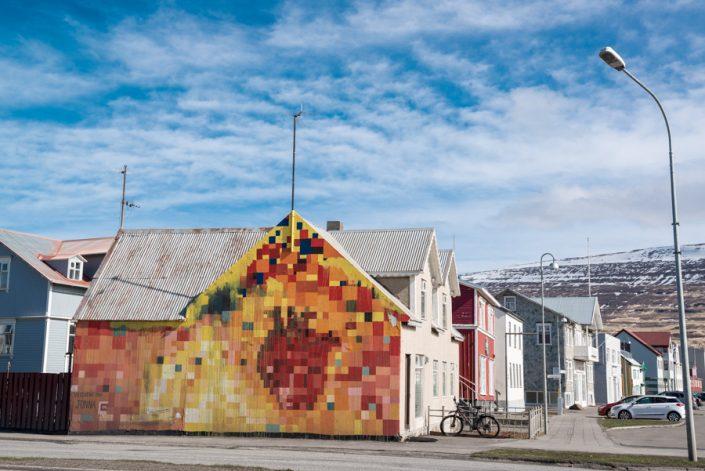 Akureyri peinture