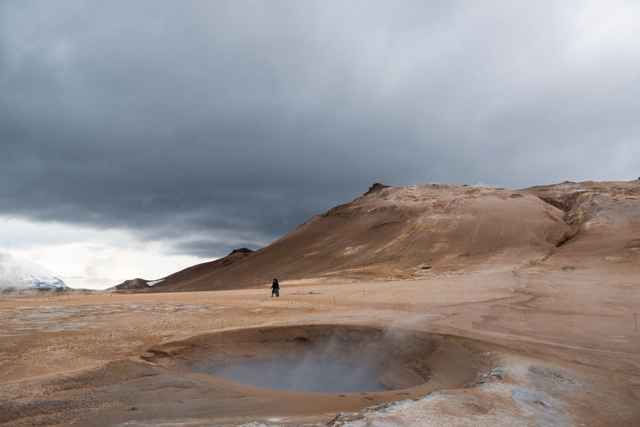 hverir volcan paysage
