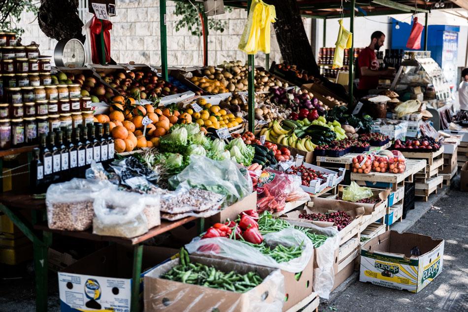 Road-Trip en Croatie - Voyage d'une semaine - petit marché à Bol