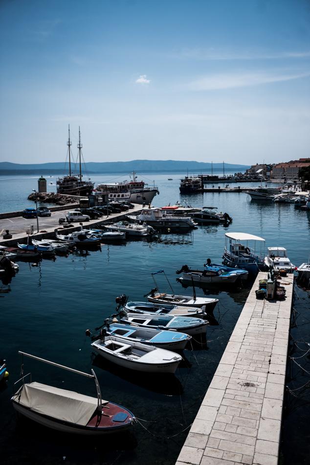 Road-Trip en Croatie - Voyage d'une semaine - petit port sur l'île de Brac (Bol)