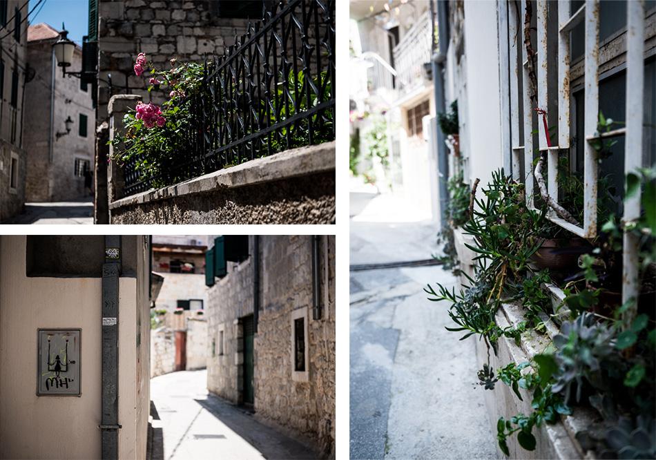 Road-Trip en Croatie - Voyage d'une semaine - Décor et détails dans les ruelles de Split