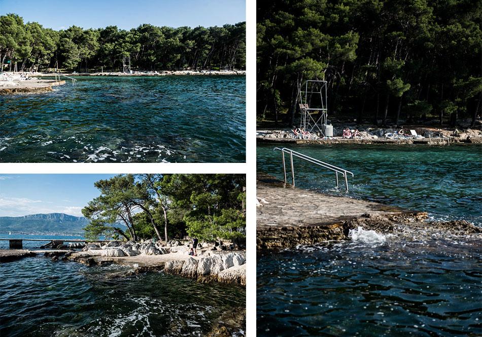 Road-Trip en Croatie - Voyage d'une semaine - Plage de Béné, près de Split