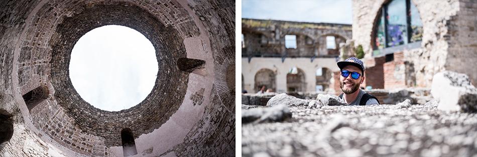 Road-Trip en Croatie - Voyage d'une semaine - Ruines Palais Dioclétien de Split