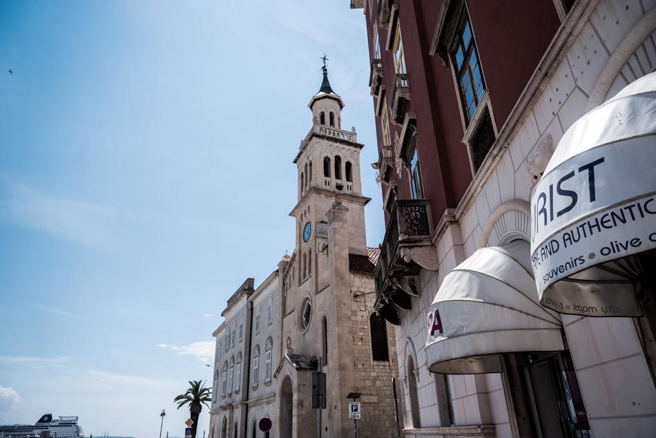 Road-Trip en Croatie - Voyage d'une semaine - Eglise St François à Split