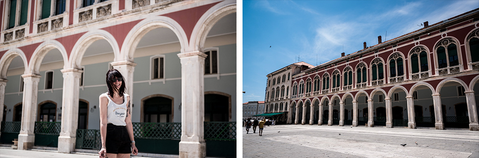 Road-Trip en Croatie - Voyage d'une semaine - Place Prokurative