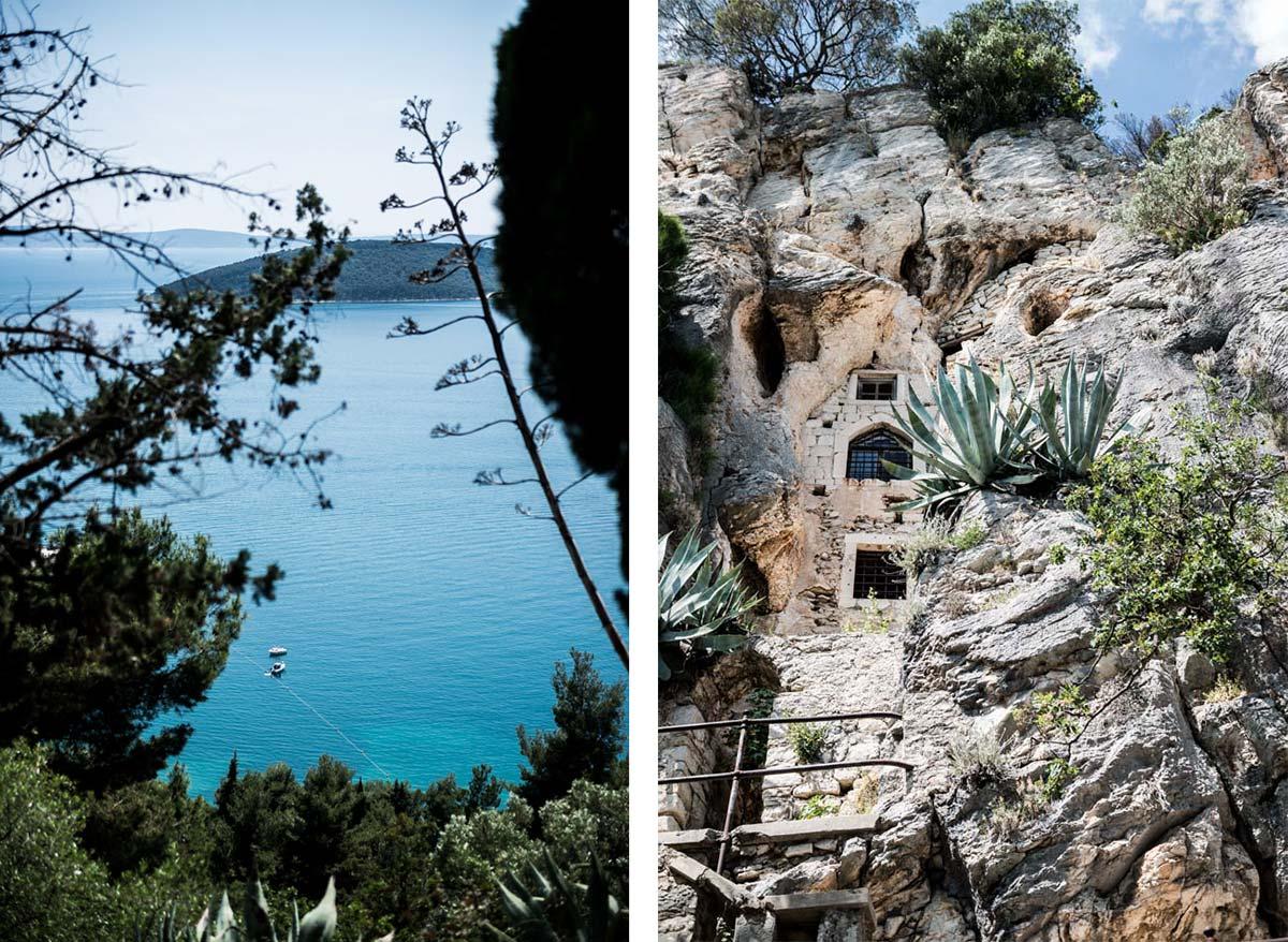 Road-Trip en Croatie - Voyage d'une semaine - randonnée pour accéder aux plages de Split