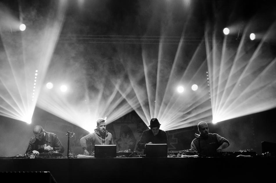 Photo de Concert - Birdy Nam Nam - Jardin du Michel - Toul