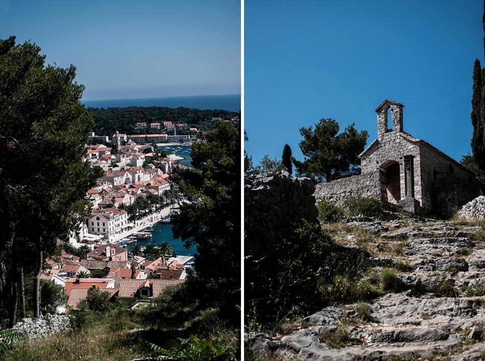 Voyage Conseils Bons Plans Adresse Croatie Hvar Blog Vue de La Forteresse