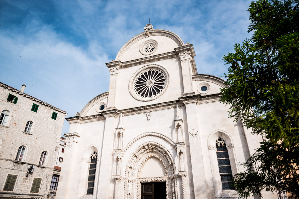 Roadtrip en Croatie - Cathédrale Sibenik