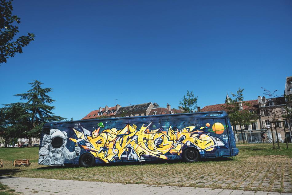 Constellations Metz - Parcours Street Art - leskule