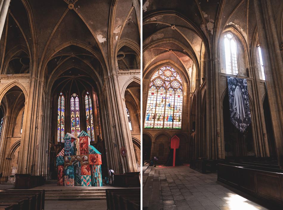 Constellations Metz - Parcours Street Art - Basilique St Vincent