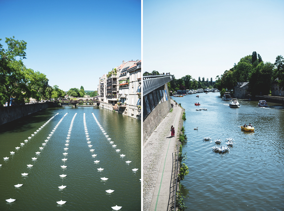 Constellations Metz - Parcours Street Art- Aether et Hemera