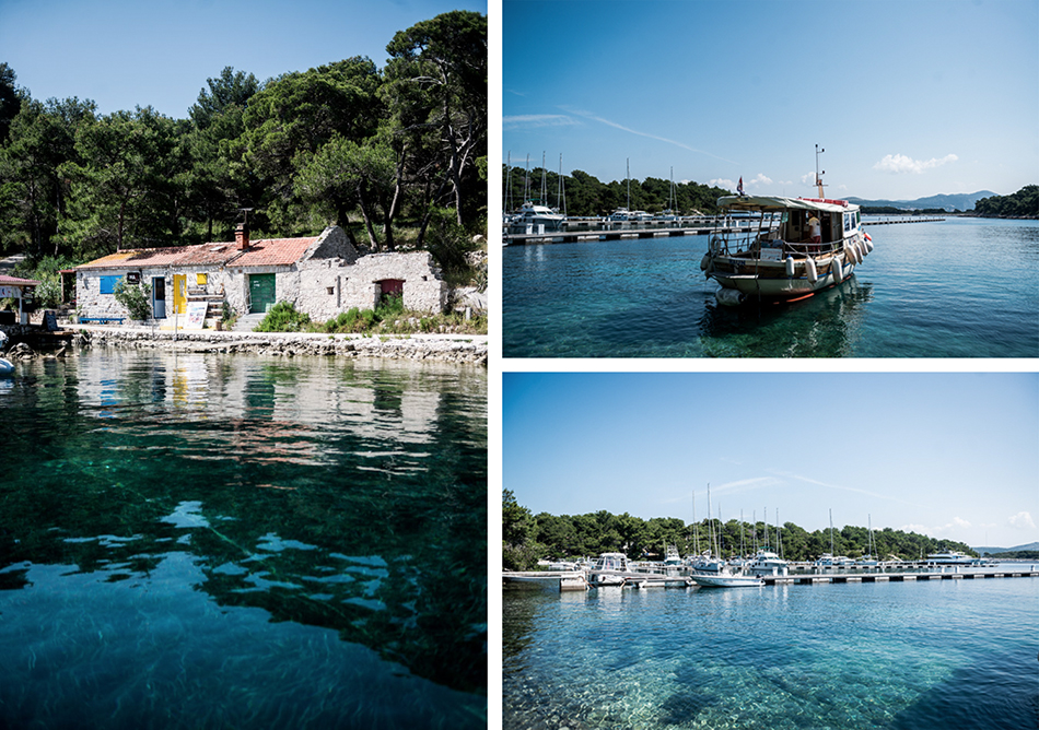 Voyage Conseils Bons Plans Adresse Croatie Hvar Blog arrivé sur l'île de Palmizana