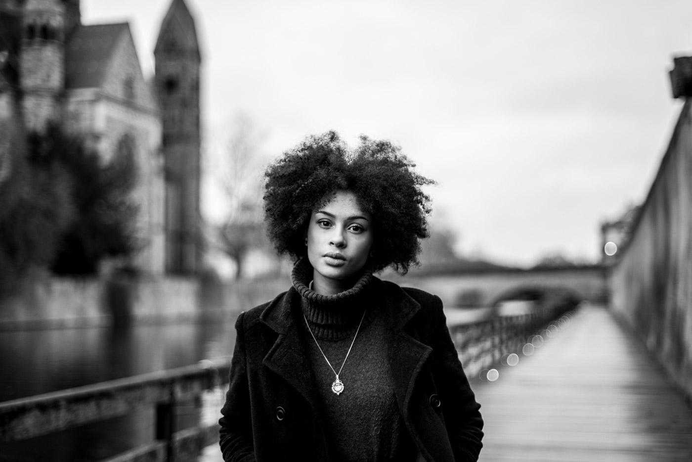 Margaux Gatti Photographe de Metz - La Femme dans la Ville de Metz - Projet Photo Portrait 2019 - Rue des Roches