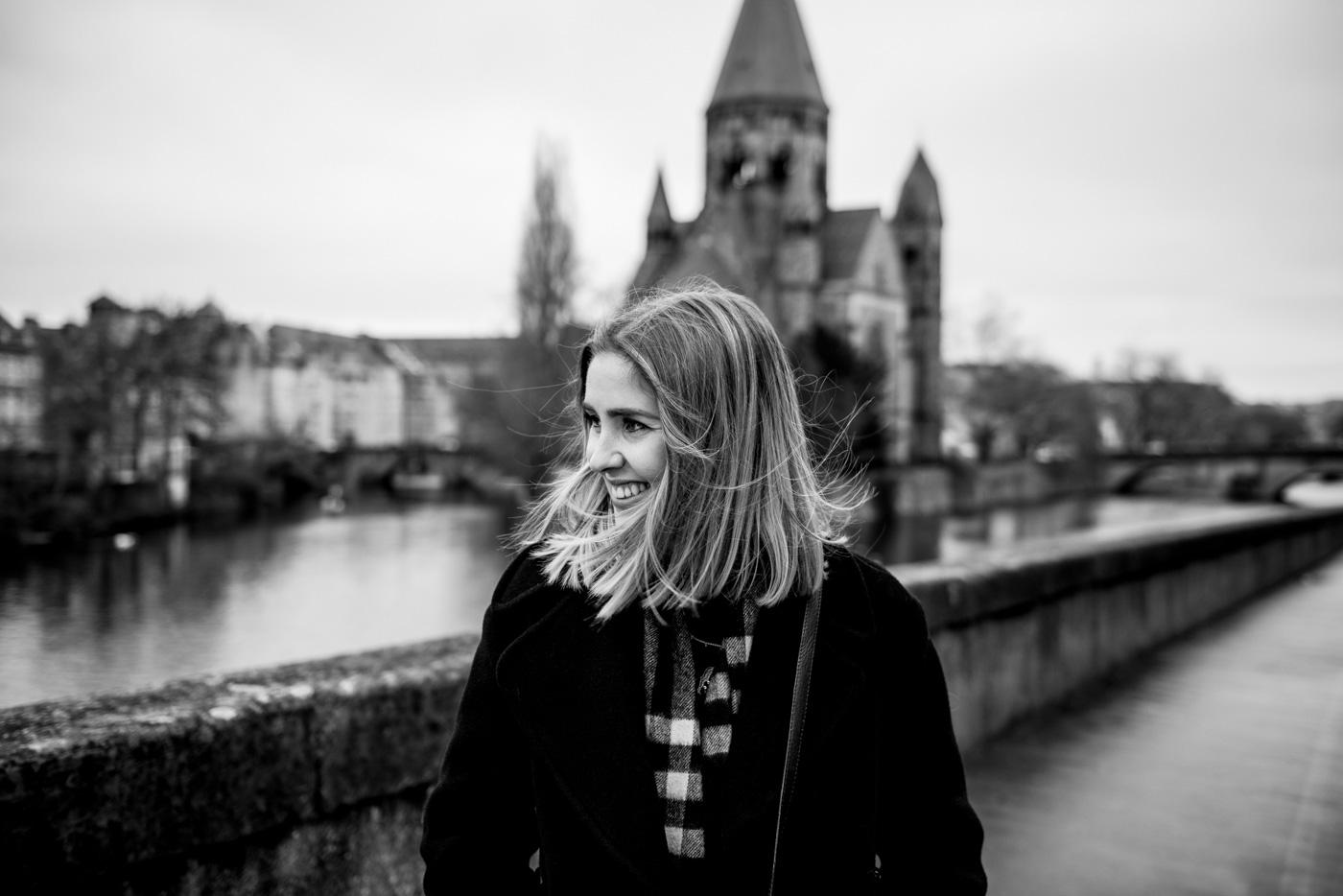 Margaux Gatti Photographe de Metz - La Femme dans la Ville de Metz - Projet Photo Portrait 2019 - Temple Neuf de Metz