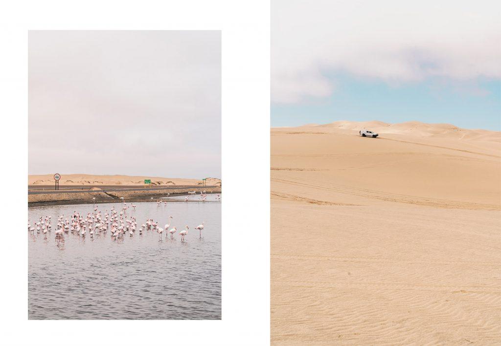 Sur les dunes de Sandwich Harbour en 4x4