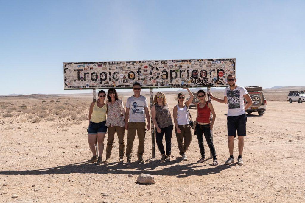 Sur les routes de Namibie, au Tropic du Capricorne