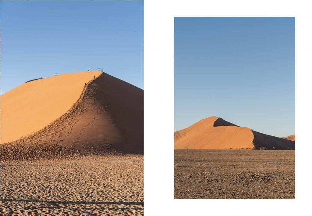 Lever de soleil sur la dune 45