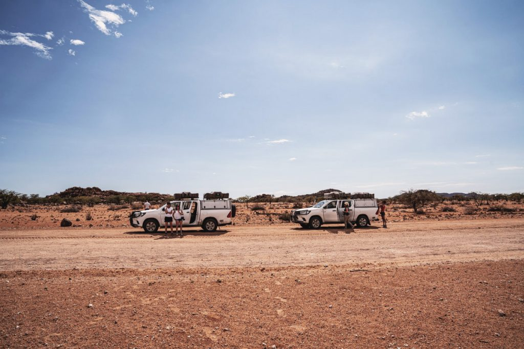 Roadtrip en Namibie avec nos 4x4