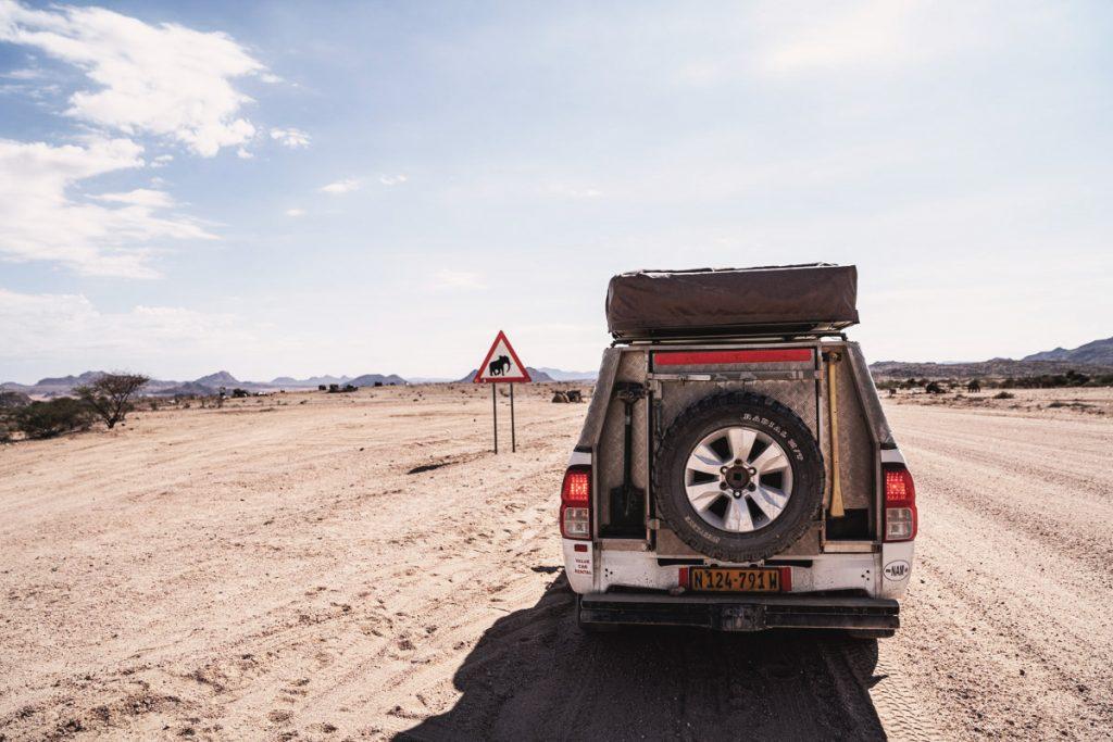 Roadtrip en Namibie avec notre 4x4