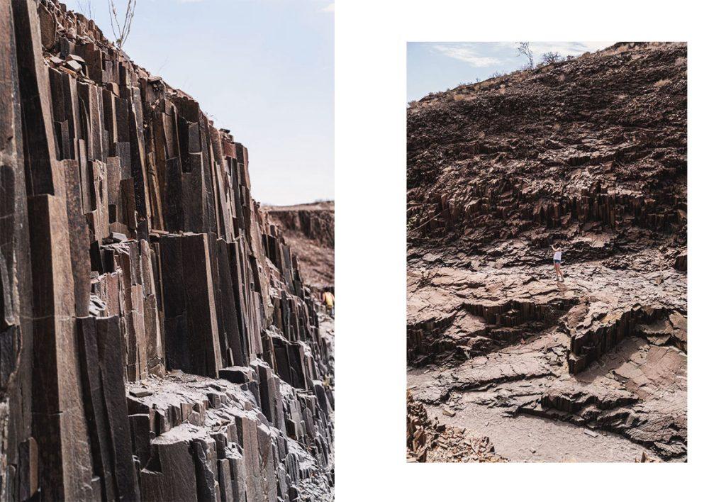 Conseil et Itinéraire en Namibie - Organ Pipes