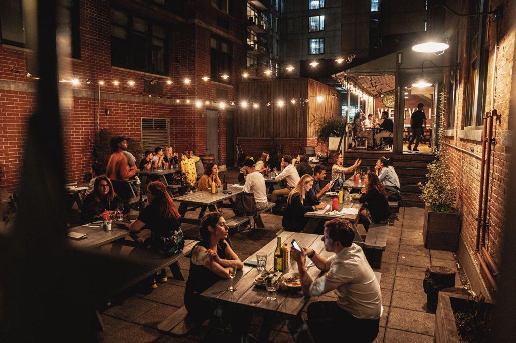 Voyage de 10 jours à New York en septembre 2019 - Diner à Dumbo, restaurant le Westville