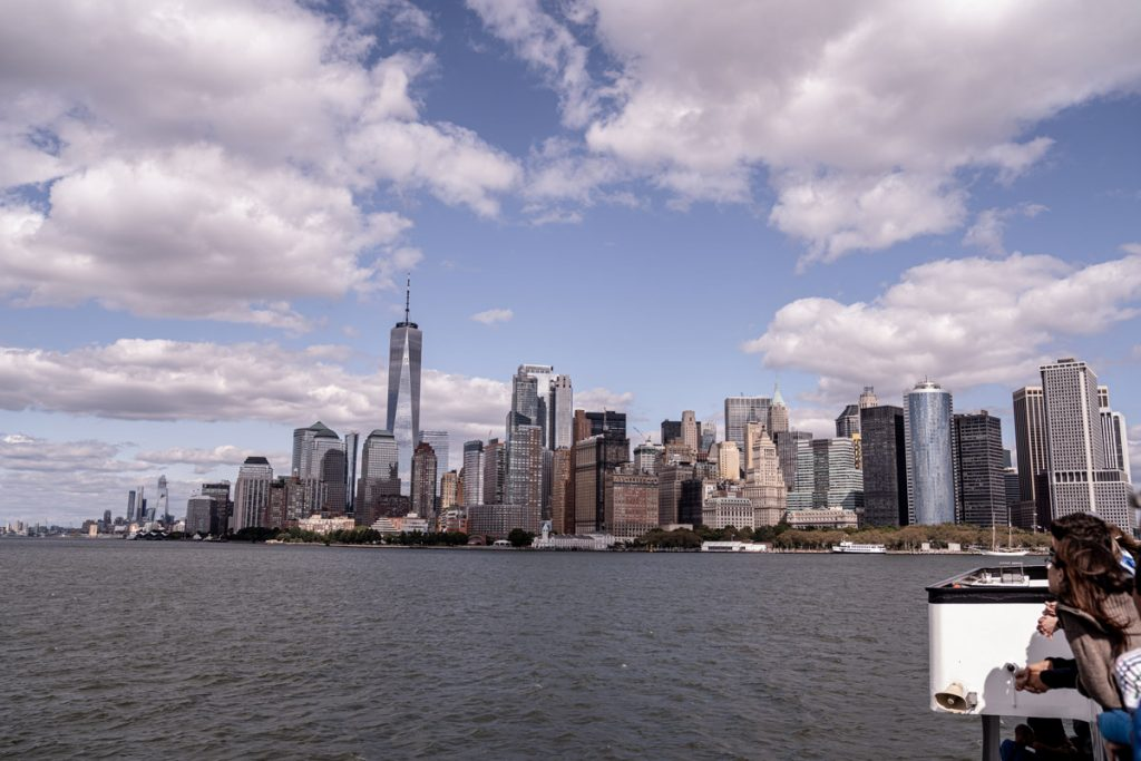 Voyage de 10 jours à New York en septembre 2019 - Direction Liberty Island