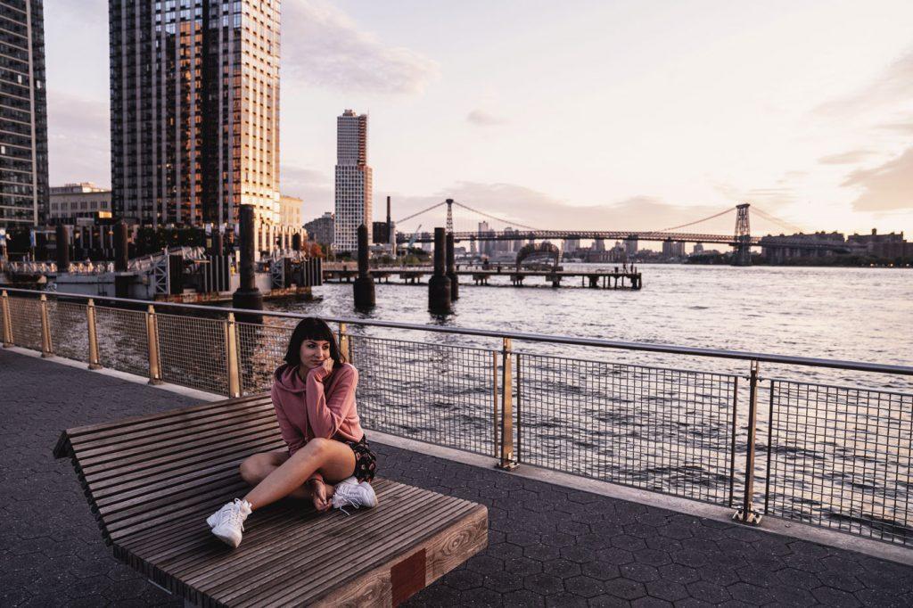Voyage de 10 jours à New York en septembre 2019 - Coucher de soleil à Williamsburg