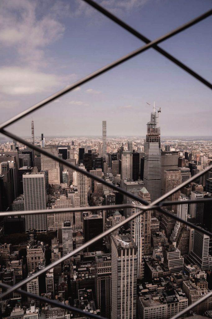 Voyage de 10 jours à New York en septembre 2019 - Empire State Building