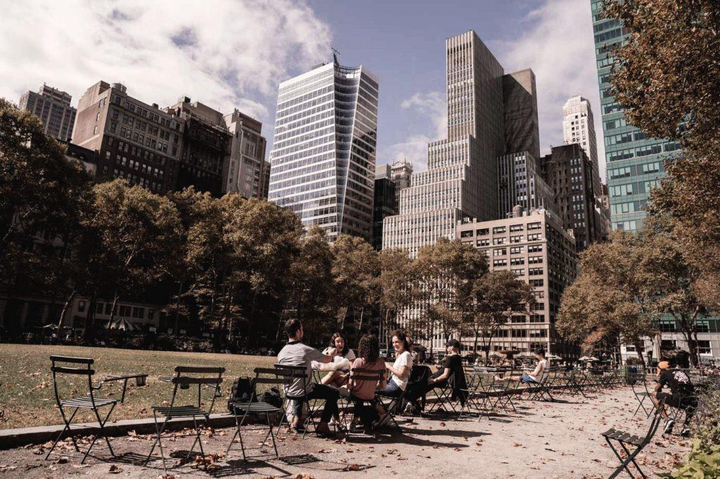 Voyage de 10 jours à New York en septembre 2019 - Bryant Park