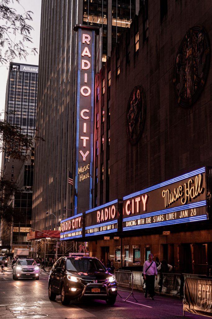 Radio City New York Manhattan