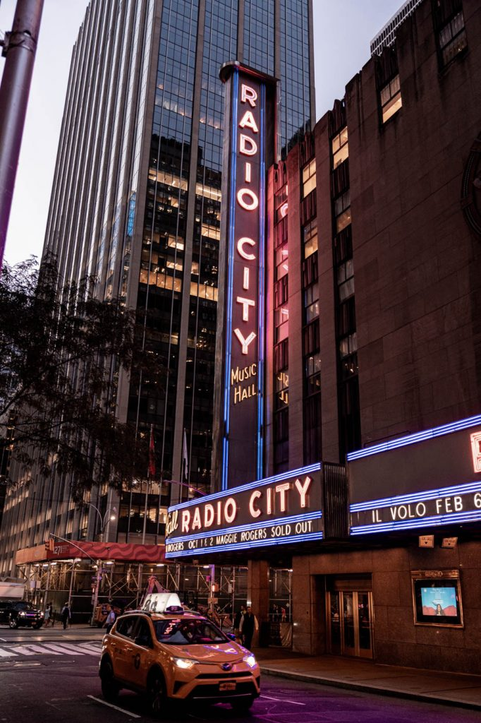 Radio City New York Manhattan