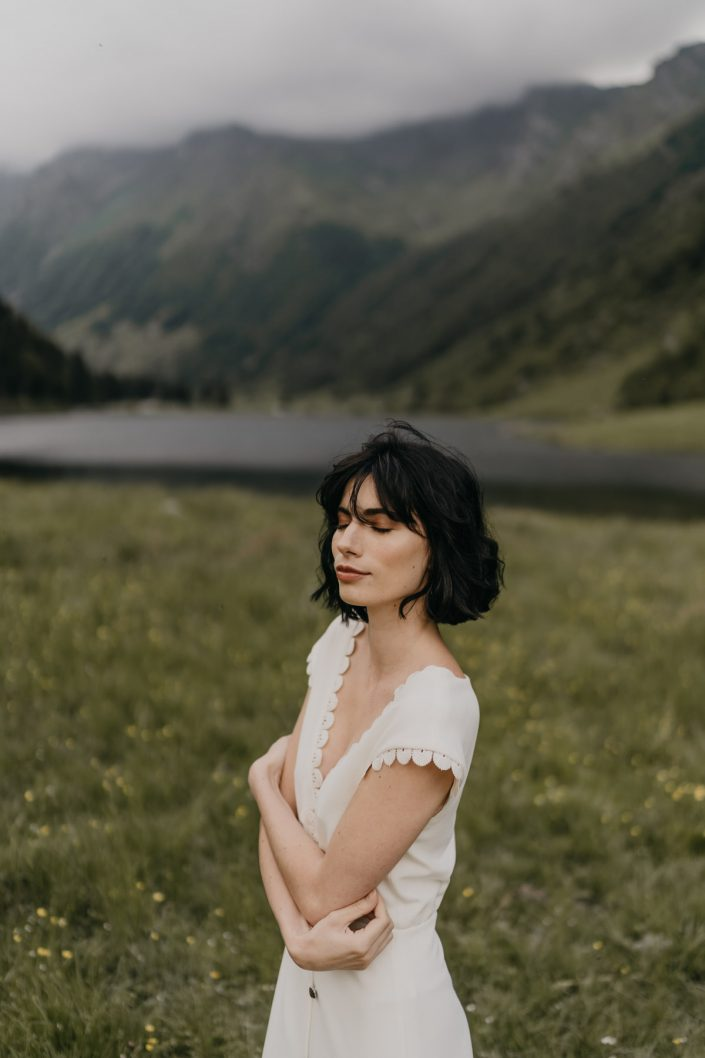 Edito dans les Hautes Pyrénées pour la créatrice Céline Ménard - Toulouse - Photographe de Mariage