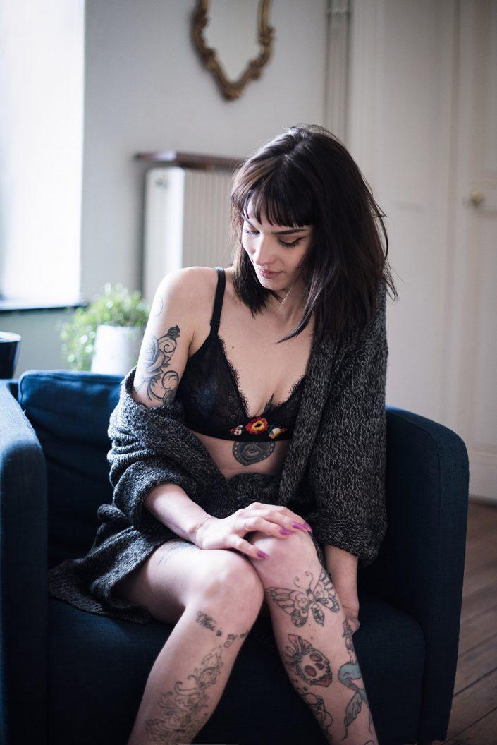 "Photographie Portrait - Valentine - Metz - Série ""Murmure"""