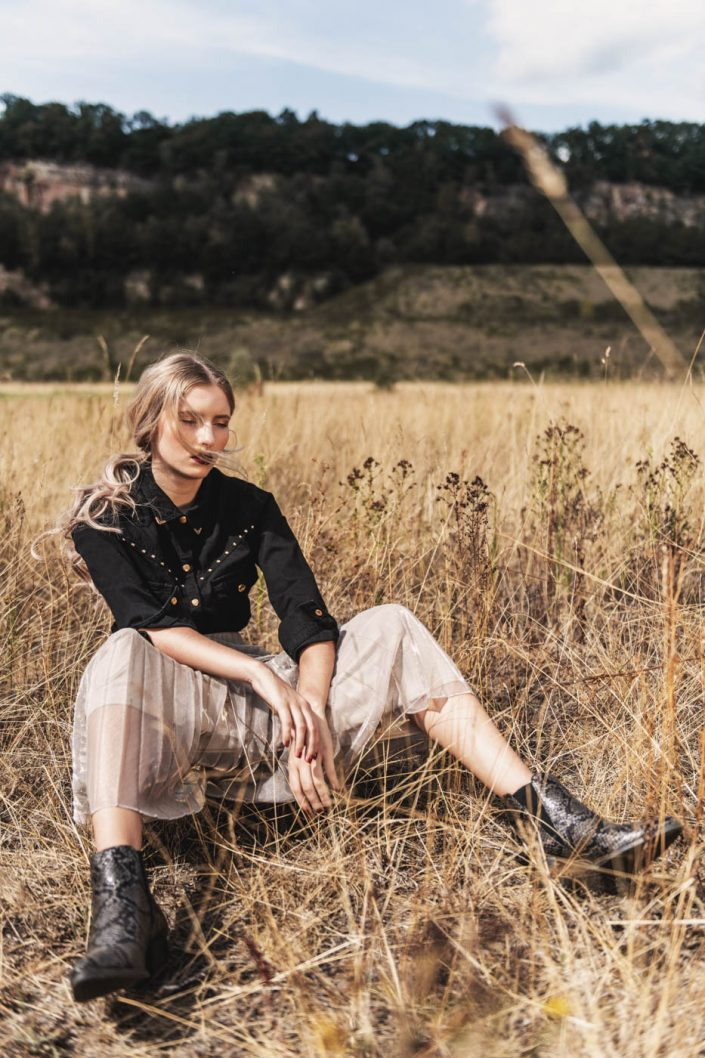 Margaux Gatti Photographe - Metz Lorraine Luxembourg - Shooting photo Collection Western Automne 2019 pour Chaussea