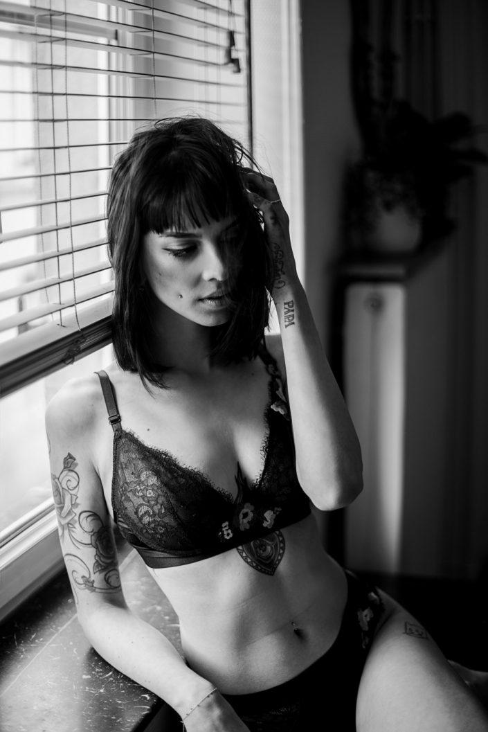 Margaux Gatti Photographe - Metz Lorraine Luxembourg - Valentine en séance boudoir