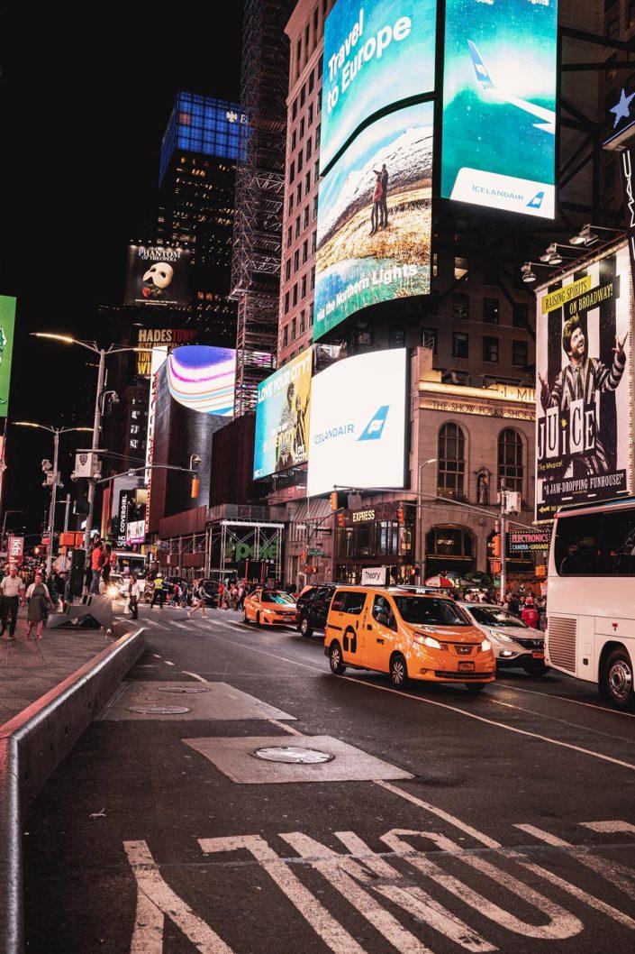 Voyage de 10 jours à New York en septembre 2019 - Times Square