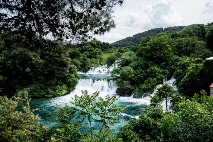 Road-Trip en Croatie - Voyage d'une semaine - parc national de Krka
