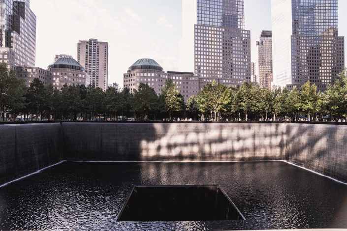 Voyage de 10 jours à New York en septembre 2019 - Memorial du 11 septembre 2001