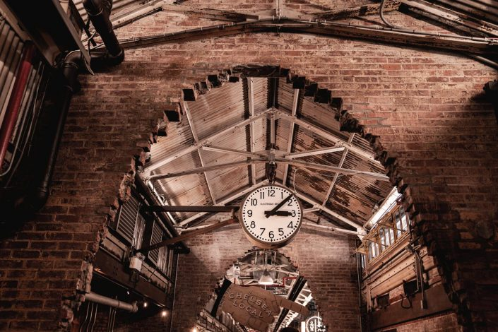 Horloge The Chelsea Market New York