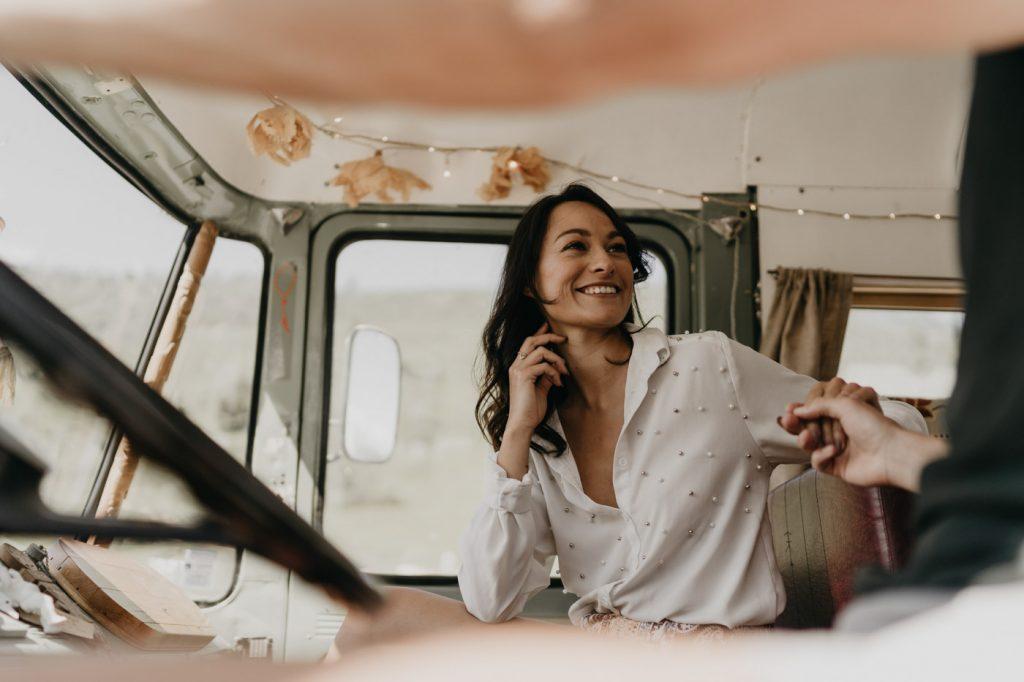 Elopement dans les montages avec Sioux The Bus - Margaux Gatti