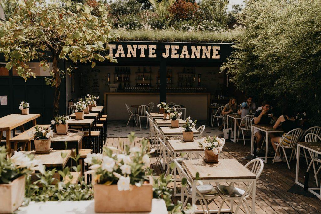 Tante Jeanne Hossegor - Bonne adresse où venir manger lors de votre séjour dans les Landes